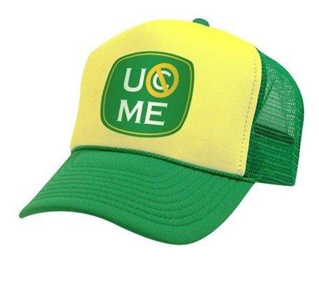 john cena 15x baseball hat wwe neon attitude adjustment cap