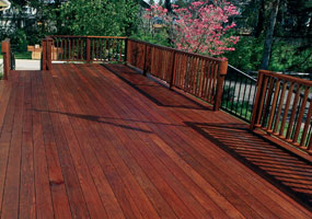 ipe hardwood decking