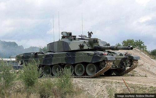 Tank Challenger 2 Angkatan Darat Inggris