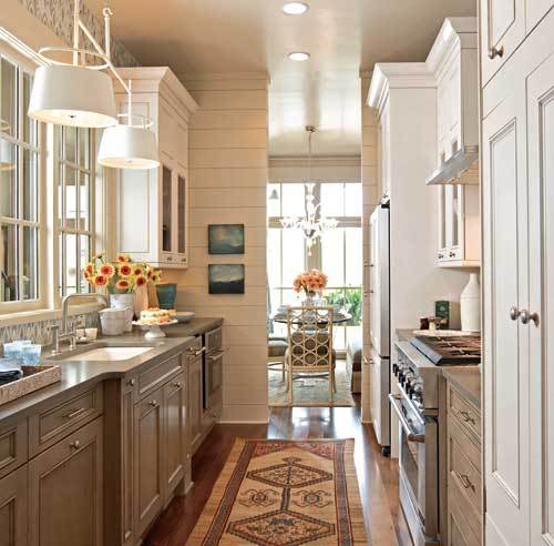 Home interior design remodeling how to renovate a for Galley style kitchen ideas