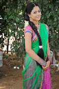Actress Anjali Rao in Half Saree-thumbnail-5