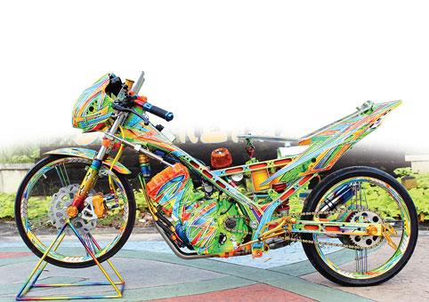 Suzuki-Satria-FU-racing-style