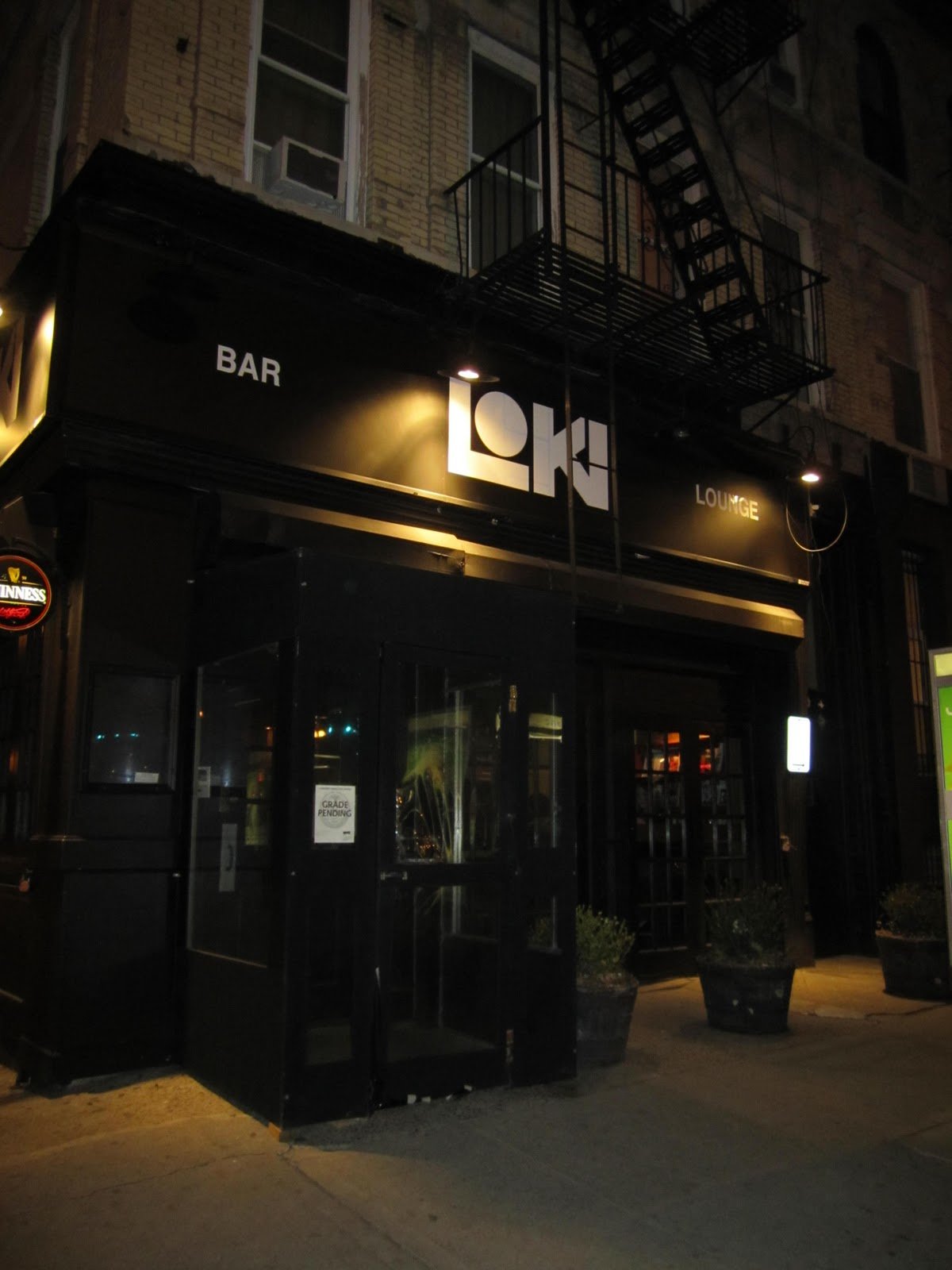 The kinky chronicle out and about a night in brooklyn part 2 talk about a drastic difference loki lounge is a huge bar with high ceilings and a large lounge area this lounge seemed to be laid back almost serene sciox Choice Image