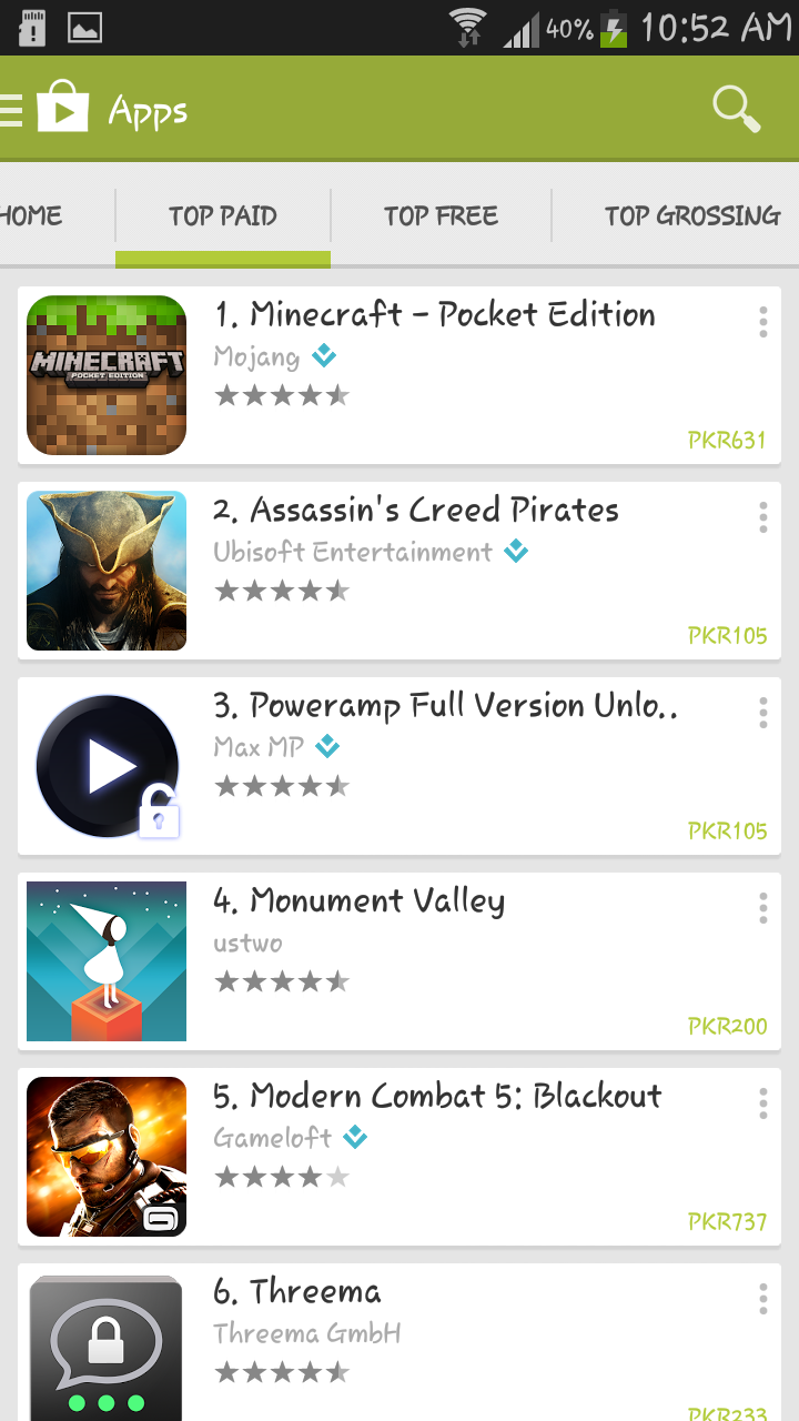 Install paid games and apps in android hack