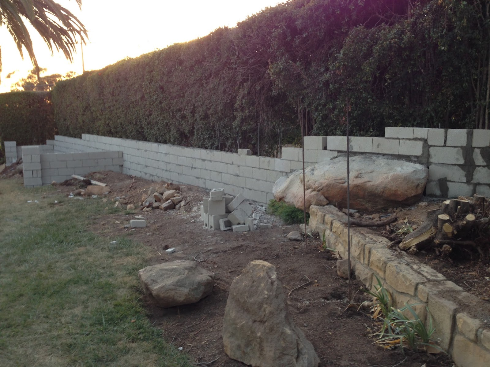 the polished pebble santa barbara garden design