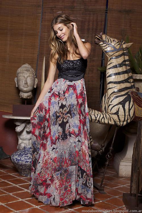 Maxifaldas y vestidos Ossira primavera verano 2015, Moda mujer 2015.