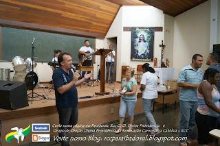 Distribuição de Carnês para construção da sede da RCC Brasil. Sábado 22/03/2014