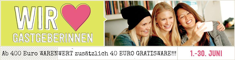 40 Euro extra GRATISWARE