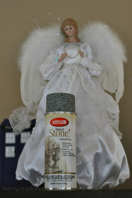 DIY - How to make a Weeping Angel tree topper