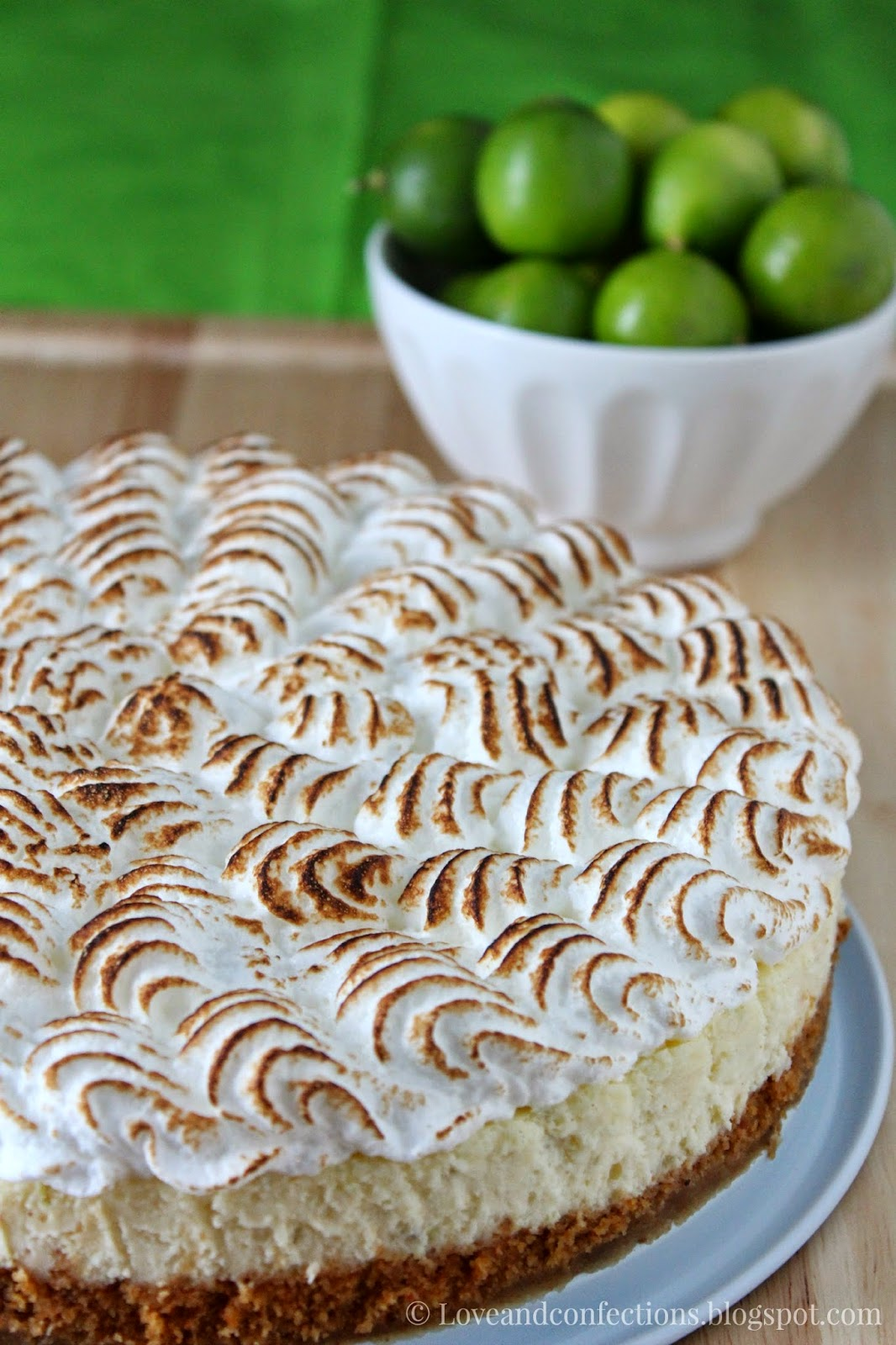 Love and Confections: Key Lime Pie Cheesecake