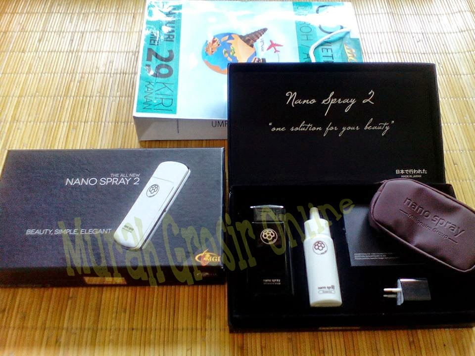 Paket Nano Spray 2 + Beauty Magic Stick MCI MGI Original