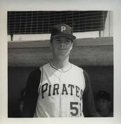 Jim Nelson 1970-1971; pitched the last game at Forbes Field
