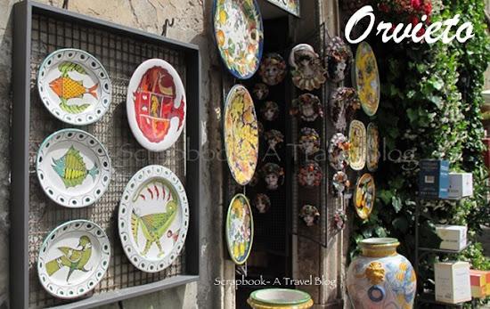Orvieto Italy shop