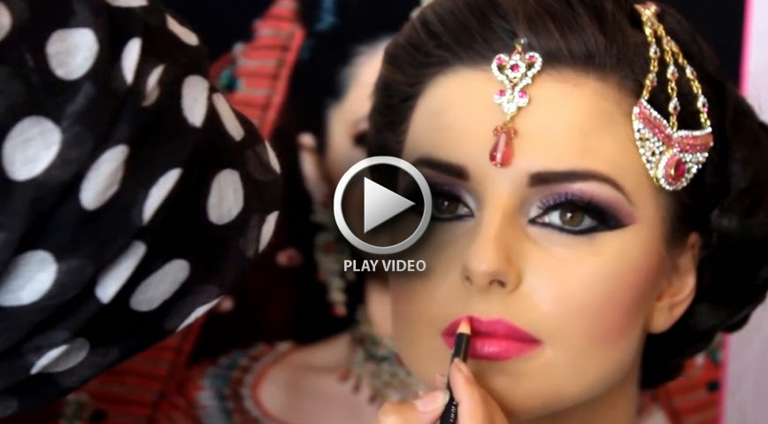 """Hi Everyone, if you are searching for Best South Asian Bridal Makeup then this tutorial is ideal for you. Just a while now, famous Indian Makeup Artist """" ..."""