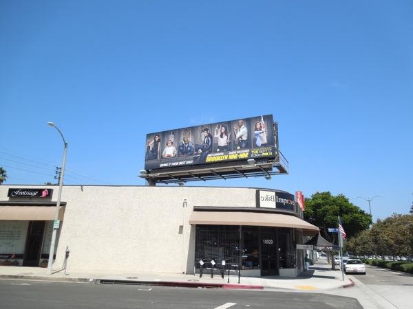 Brooklyn Nine Nine billboard