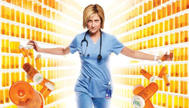 Nurse Jackie,showtime series, hd wallpaper