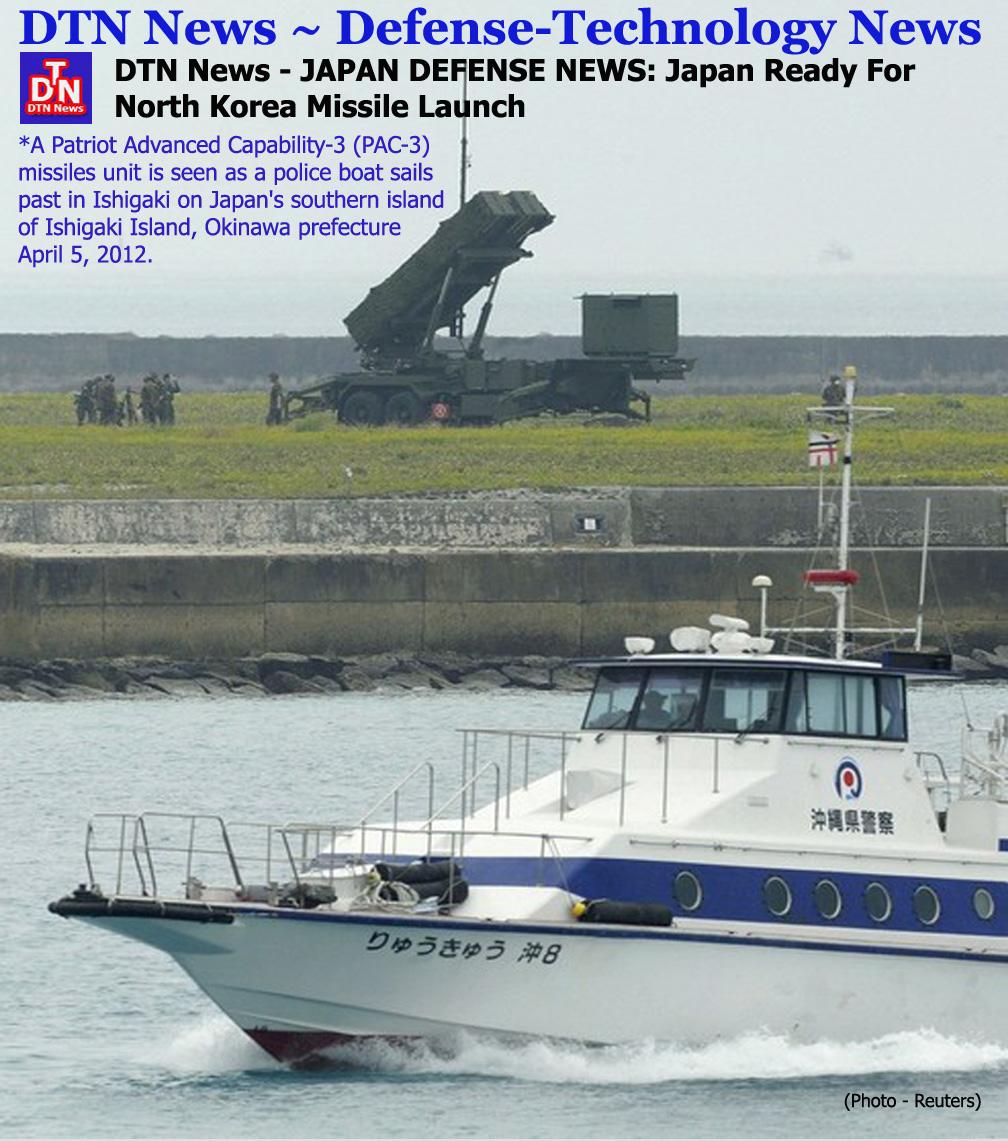 Japan Latest News Update: JAPAN DEFENSE NEWS: Japan Ready