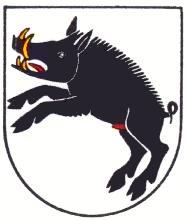 Cochon de sable  Porrentruy-blason