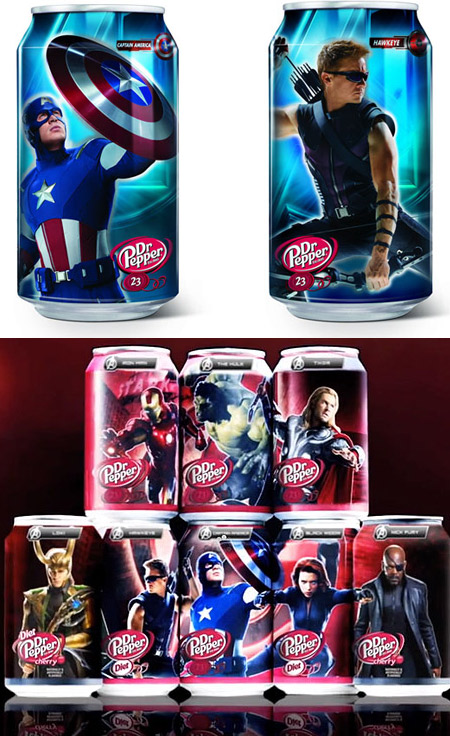 Dr Pepper Collectible Cans