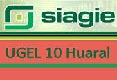 SIAGIE UGEL Nº 10 HUARAL
