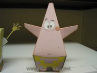 Patrick Star Papercraft , Spongebob Square Pants