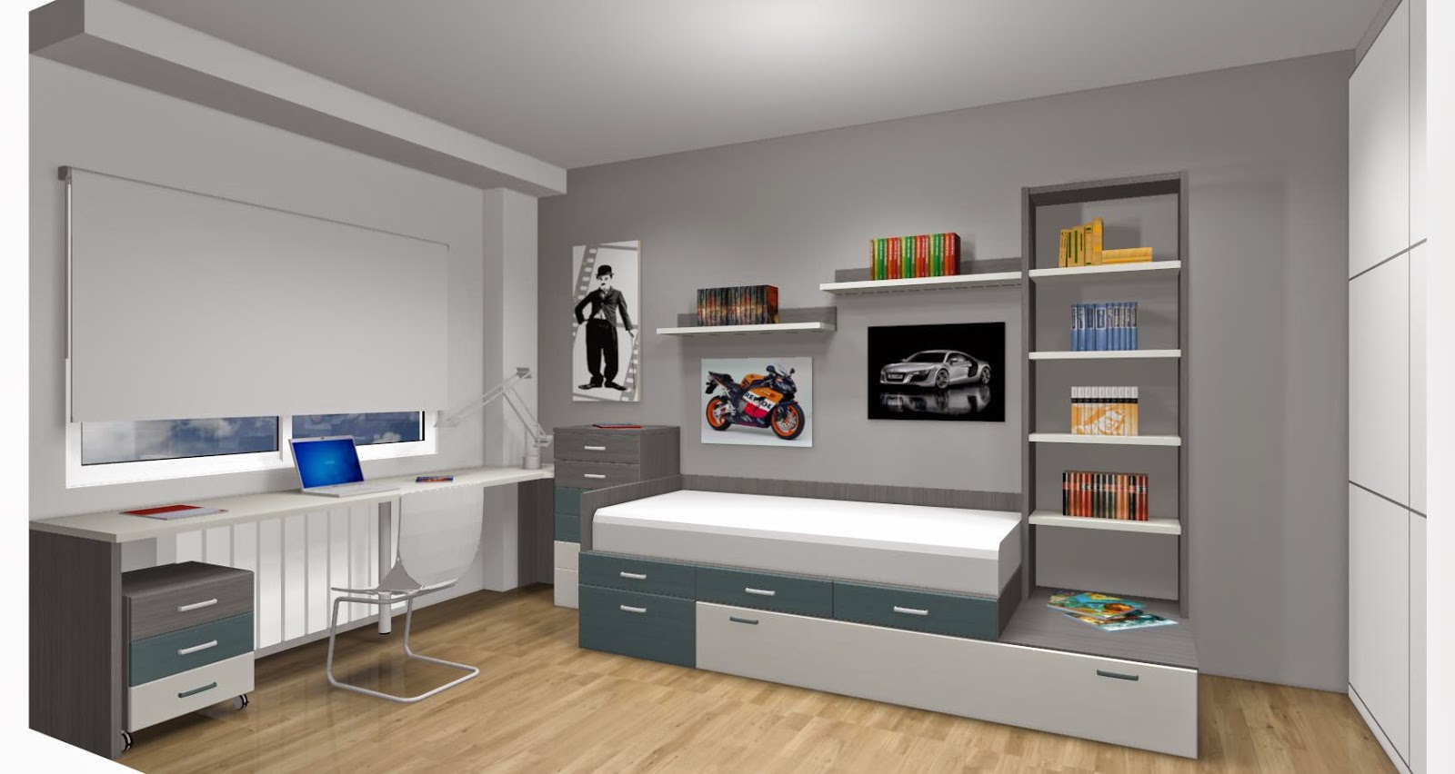 Revista el mueble dormitorios juveniles gallery of - Muebles dormitorios infantiles ...