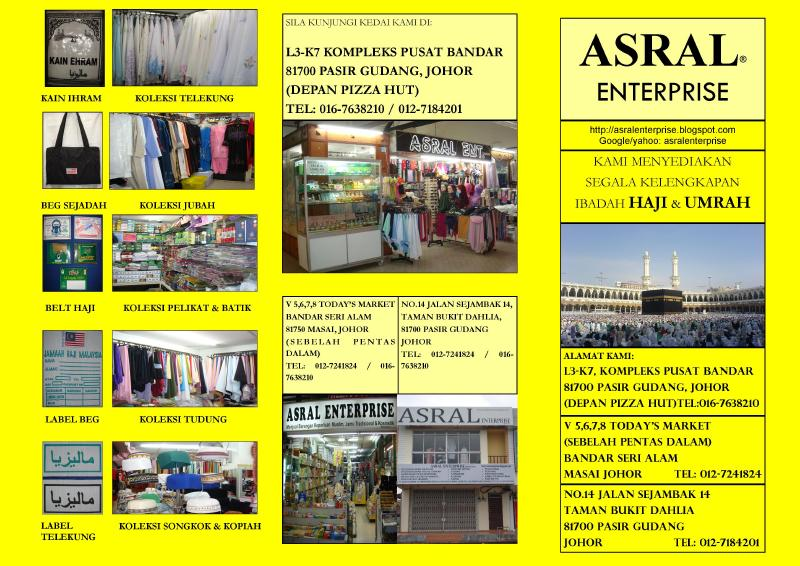 foto Brochure Asral Enterprise Page 1