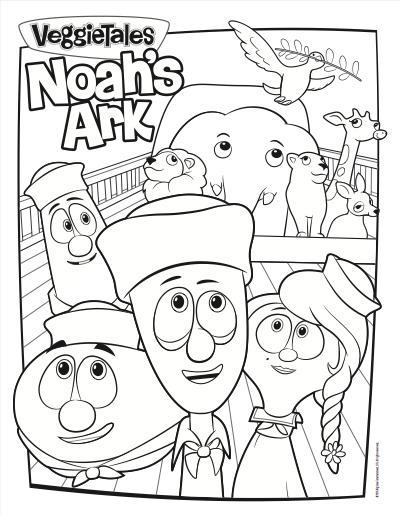 Just A Little Creativity VeggieTales Noah 39 s Ark Now