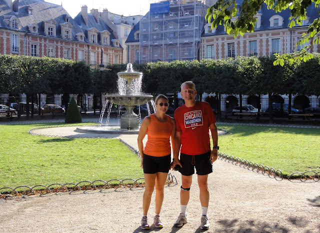 Anne and Niels Place des Vosges