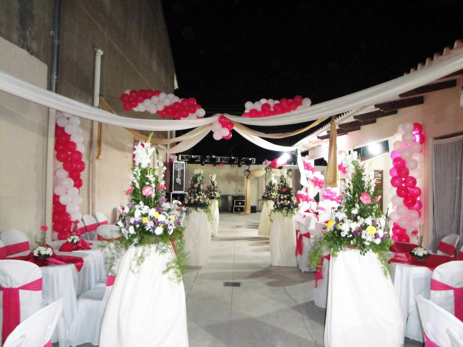 Creatividad eventos sociales decoraci n de 15 a os for Adornos para quinceanera