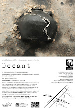 Decant exhibition invitation