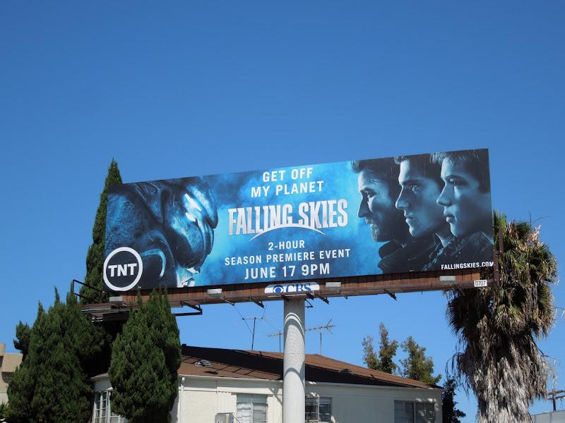 Falling Skies season 2 billboard