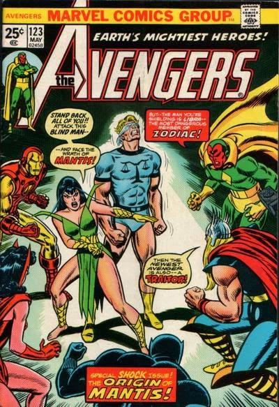 Avengers #123, Zodiac