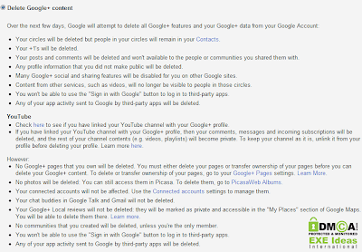 How To Delete Google Plus or Google+ Account Without Deleting Gmail Account?