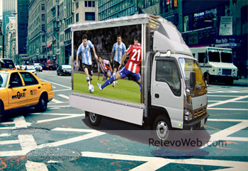 camion con pantalla led publicitaria