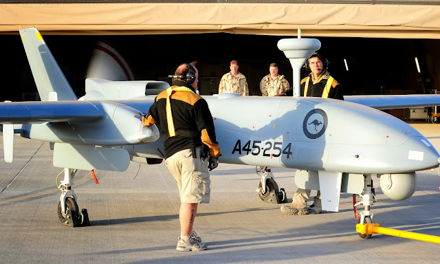 RAAF Heron UAV