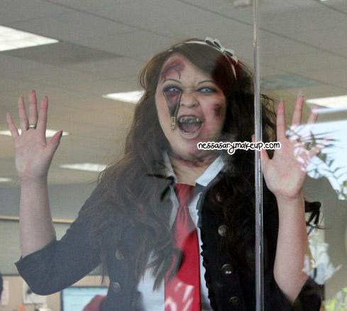 NessasaryMakeup Happy Halloween! (Zombie School Girl Look)