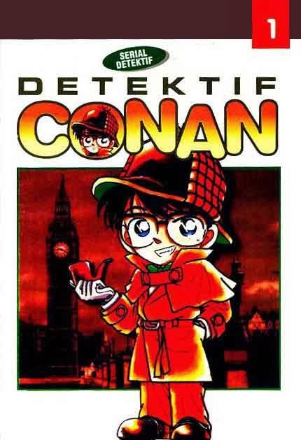 Download Kumpulan Volume Komik Detektif Conan Lengkap Bahasa Indonesia