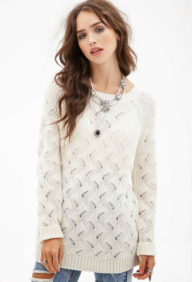 Winter Wear Sweaters For Western Ladies By Forever 21 From ...