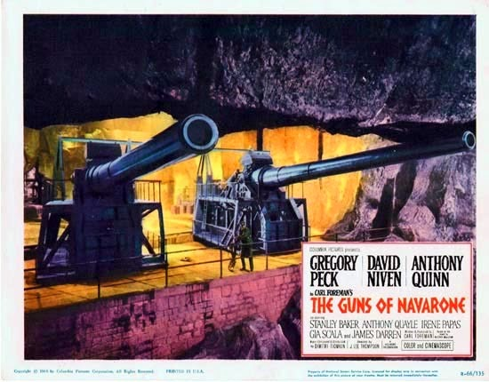 The Guns of Navarone movie poster 1961
