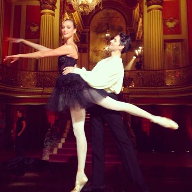 Karlie Kloss Ballerina