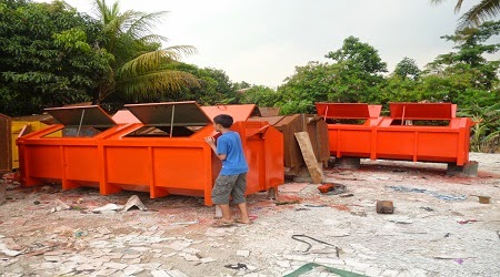 kontainer sampah jakarta