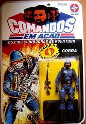 Propaganda dos Bonecos do Comandos em Ação (Estrela). Veiculada em 1988.