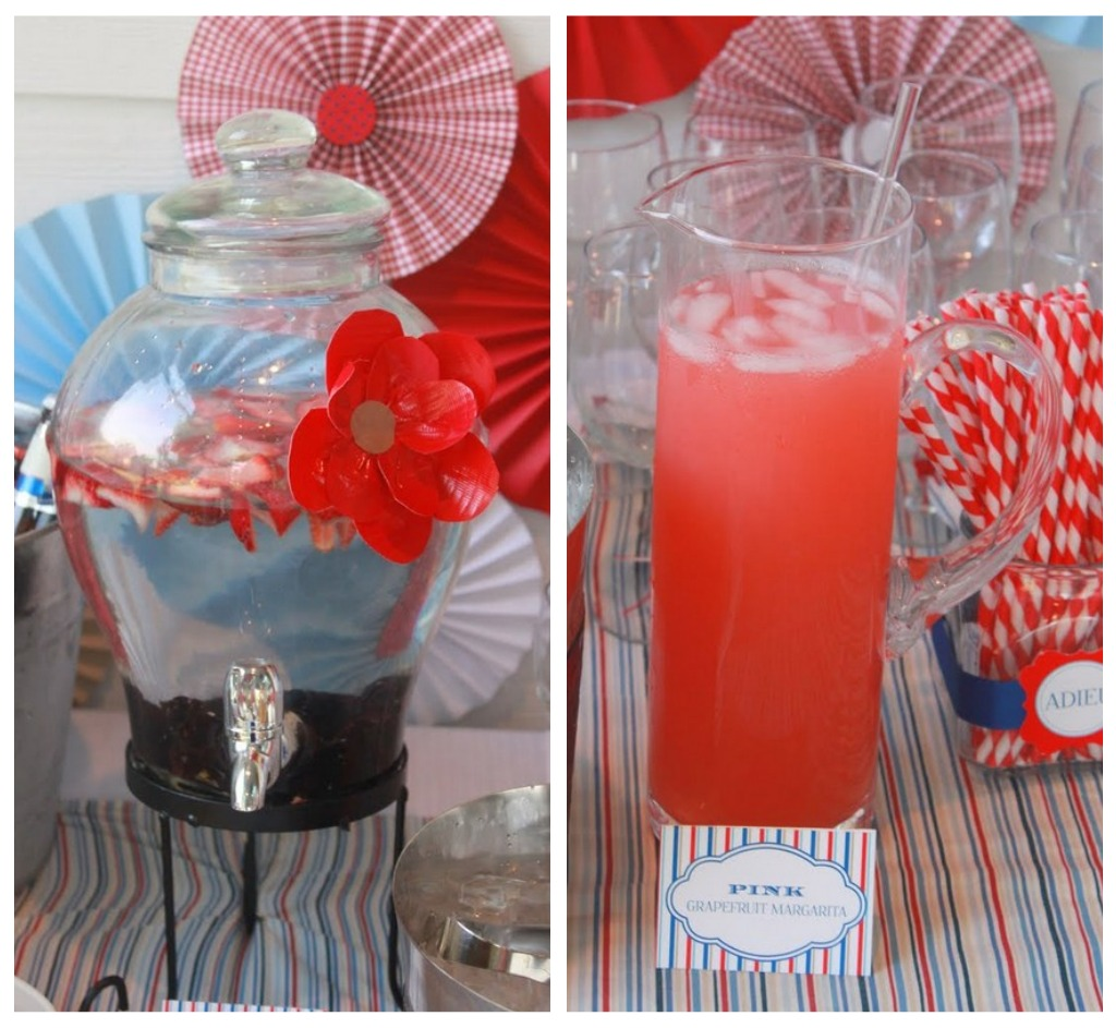 Mirabelle creations party modern going away party ideas