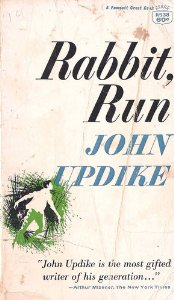 an analysis of happiness and family in rabbit run by john updike Driving is boring but it's what we do most of american life is driving somewhere and then driving back wondering why the hell you went john updike, rabbit at rest.