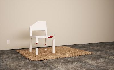 1334500370airpeterbristol تصميم جديد لكرسي رائع ، تخيل أن تجلس على كرسي بثلاثة أرجل مكسورة !