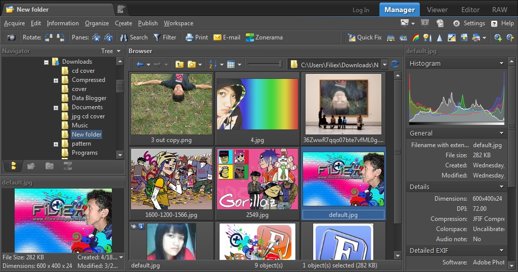 Download Zoner Photo Studio v14 Terbaru Full Version