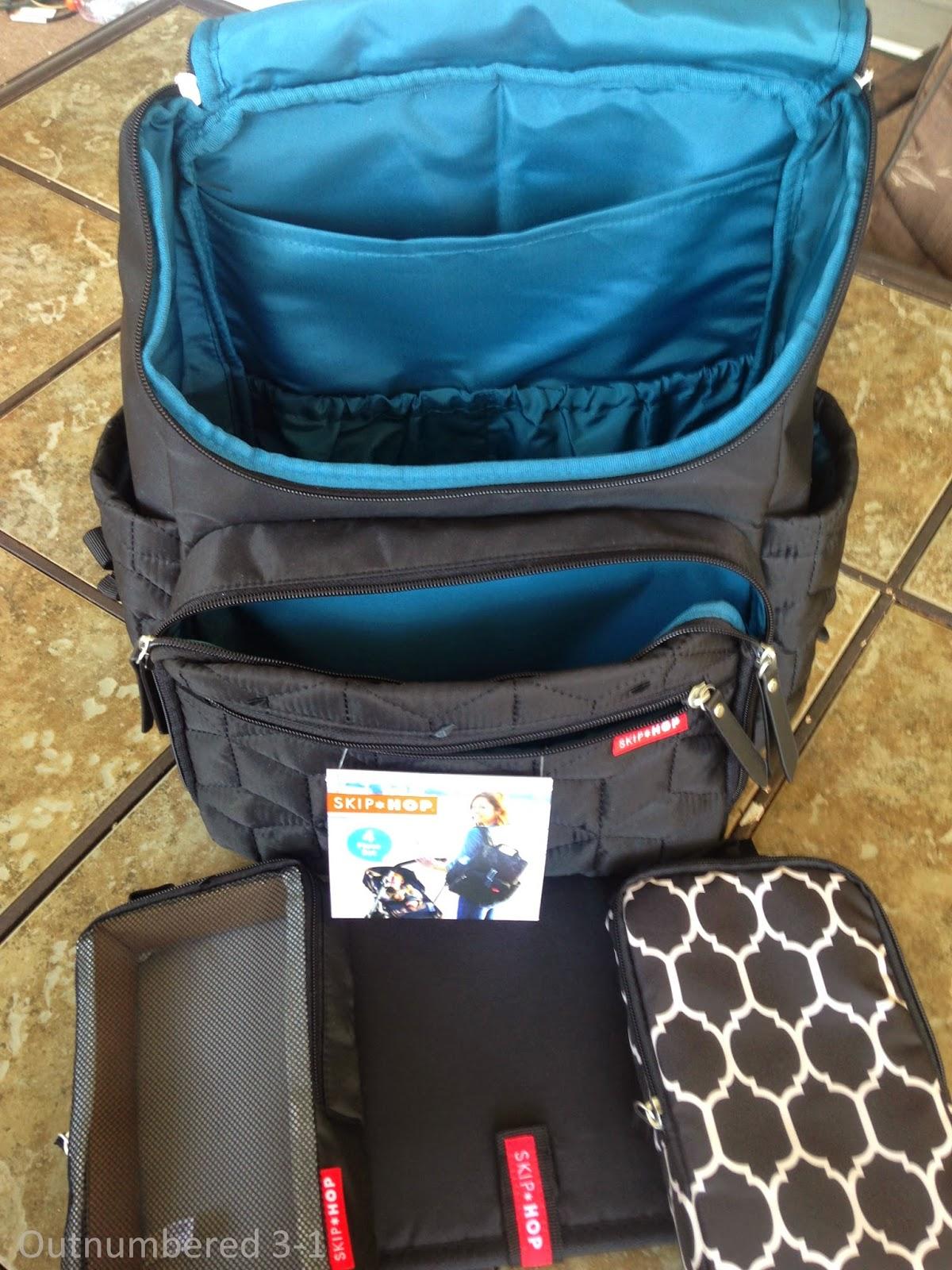 skip hop 39 s new forma backpack outnumbered 3 to 1. Black Bedroom Furniture Sets. Home Design Ideas