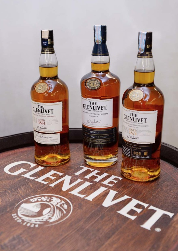 Master Distiller's Reserve, Master Distiller's Reserve Solera Vatted and The Master Distiller's Reserve Small Batch