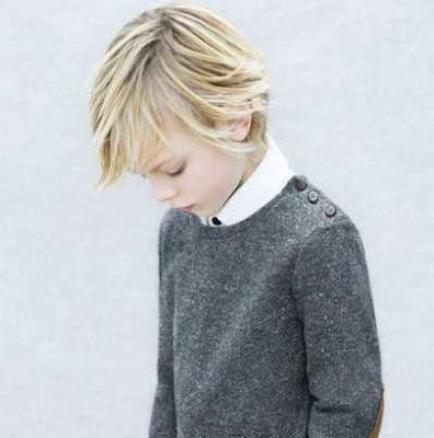 rambut medium dengan belahan samping untuk anak laki-laki 201145